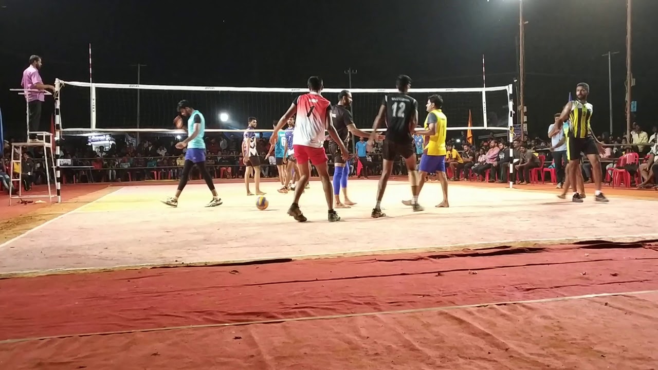 Volleyball high voltage match