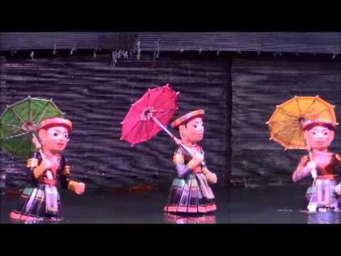 Water Puppet Theater in Hanoi - Nhà hát múa rối nước Hà Nội
