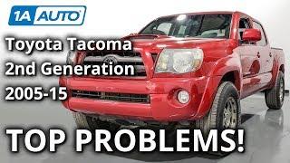 Top 5 Problems Toyota Tacoma Truck 2nd Generation 2005-15 screenshot 3
