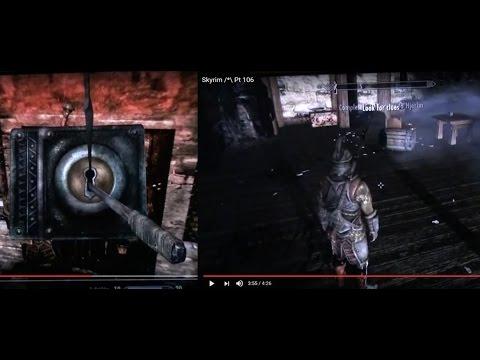 Skyrim /*\ Pt 106 Unlock Master lock: Get access to Hjerim, Look for Clues