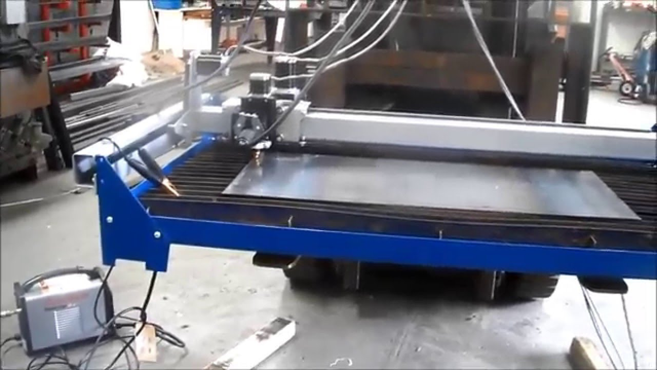 Cnc Plasma Cutter Hypertherm Powermax 30 Prototyping