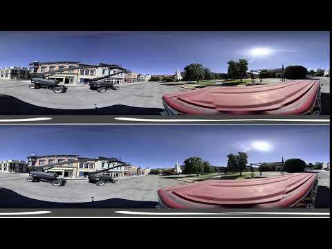 Warner Brothers Studio Tour Hollywood – Part 4 (3D 360 VR)