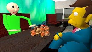 No Steamed Hams in the Halls [Baldi's Basics Meme Mod]