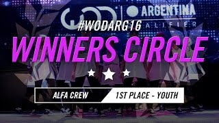 ALFA CREW | 1st Place – Youth Division | World of Dance Argentina Qualifier 2016 | #WODARG16