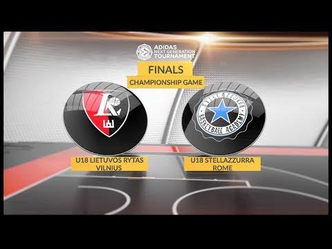 Euroleague Basketball Adidas Next Generation Tournament Championship Game