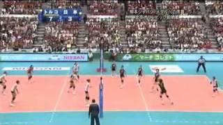 ワールドグランプリ 2008 日本vsトルコ - 第3セット