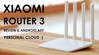 Xiaomi Router 3 Mi Wifi İnceleme - USB HDD - Cloud - APP - Review - AC - 5G - 1167Mbps