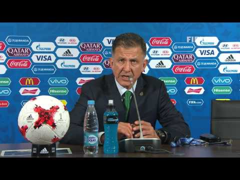 MEX v RUS -  Juan CARLOS OSORIO - Mexico Post-Match Press Conference