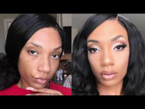 GRWM From Drab To Fab GLAM Beachy Makeup Tutorial/ shesdon