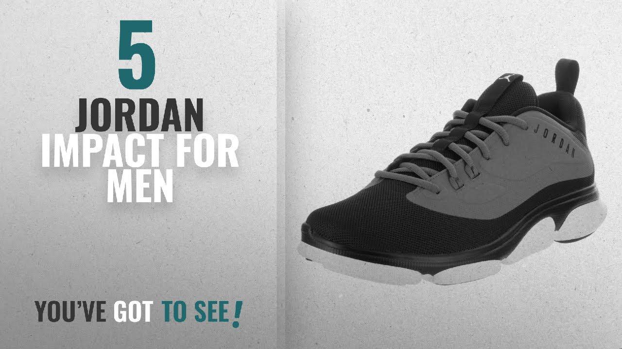 ebfd6a23c6fb7 Top 10 Jordan Impact [2018 ]: Jordan Nike Men's Impact TR Black/White/Dark  Grey Training Shoe 11 Men