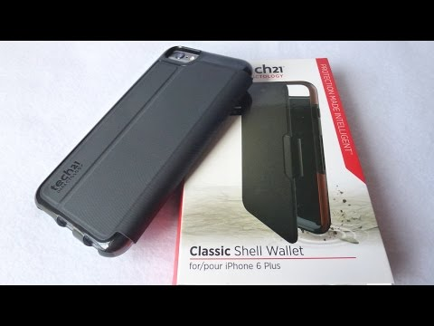 Tech21 Classic Shell Wallet for iPhone 6 Plus: Super!