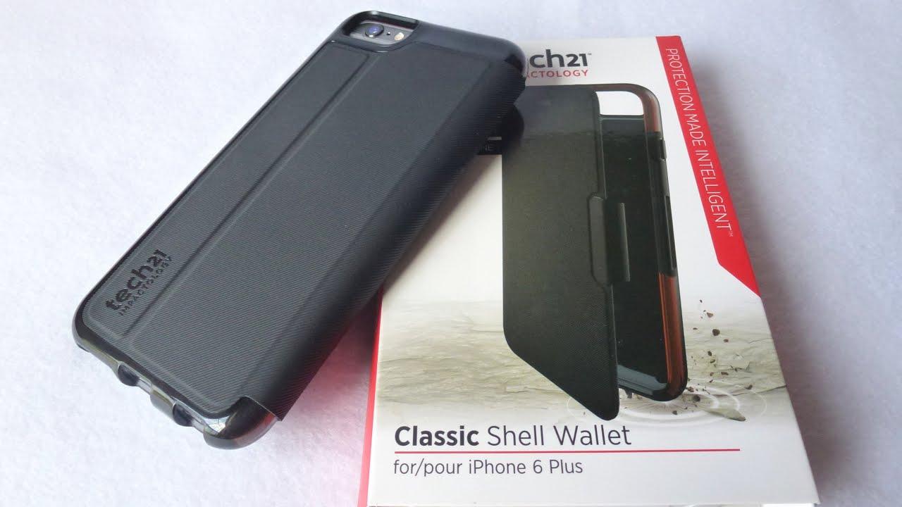 hot sale online 51d99 d60b7 Tech21 Classic Shell Wallet for iPhone 6 Plus: Super!