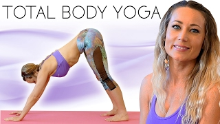 Yoga for Weight Loss with Becca- Total Body Sculpt! 20 Minute Workout Routine for Belly Fat