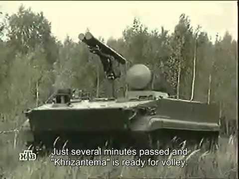 Voennoe Delo - Khrizantema-S tank destroyer (Eng subs)