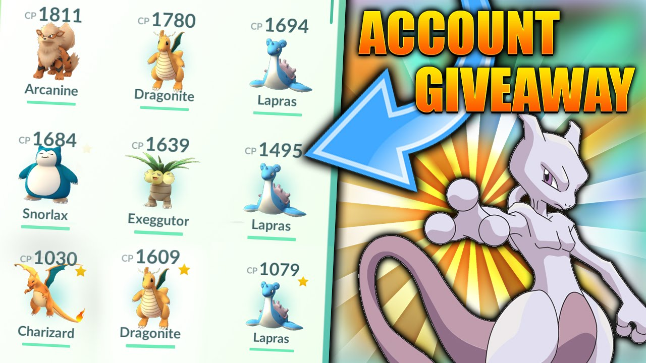 gleam io giveaway list how to get free pokemon go accounts and rare pokemon x3 3263