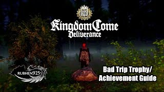 Kingdom Come: Deliverance - Bad Trip Trophy/Achievement Guide | Dance with the Devil (Hilarious!!)