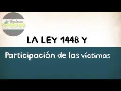 Invitación a participar en la Mesa de participación de Victimas