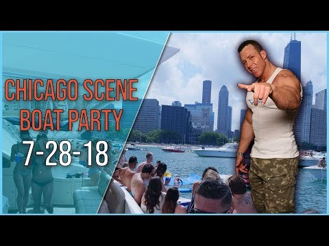Chicago Scene Boat Party 2018 On The Surrealnightlife.com Yacht
