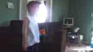 little kid harassing babysitter