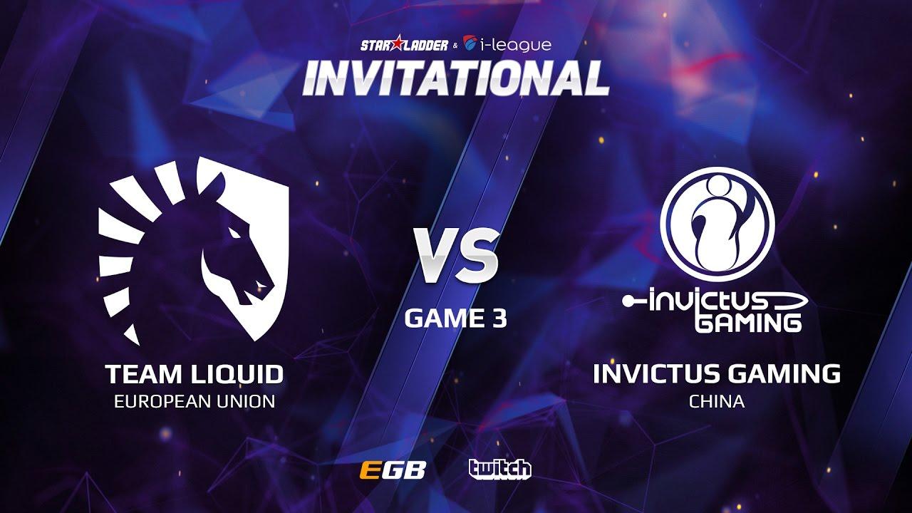 Team Liquid vs Invictus Gaming, Game 3, SL i-League Invitational S2 LAN-Final, Semi-Final