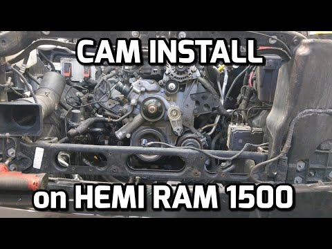HEMI RAM 1500 CAM INSTALL and START UP!!!