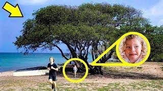 Wenn Du diesen Baum siehst, renn schnell und bitte um Hilfe!