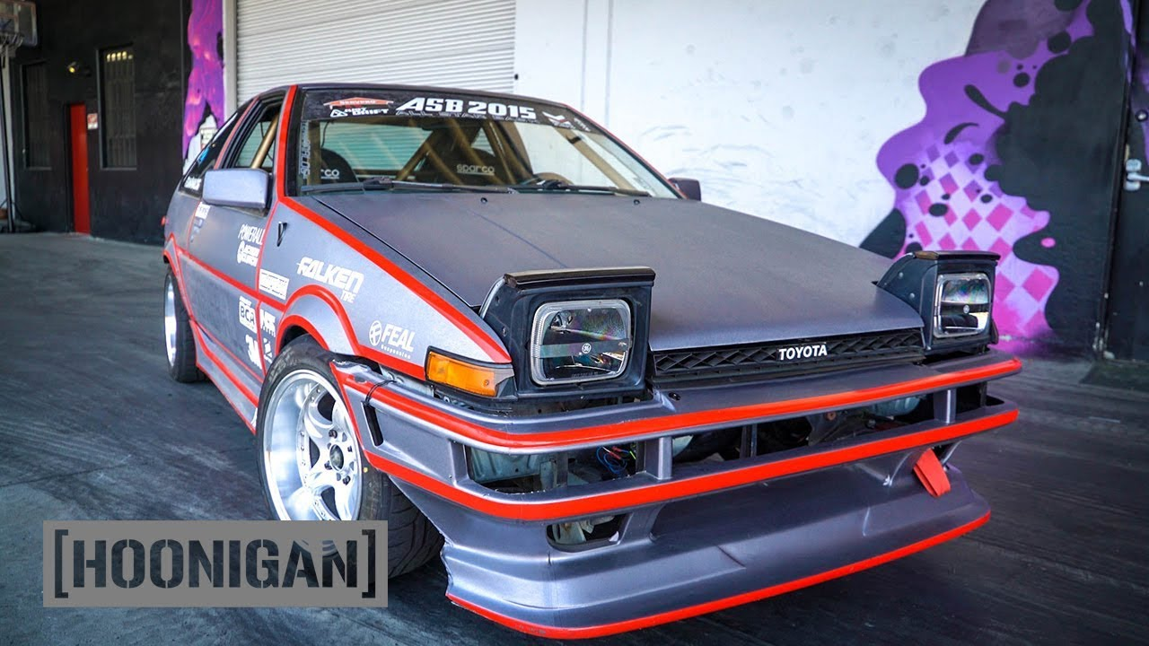Hoonigan Dt 148 Electric Toyota Ae86 Drift Car