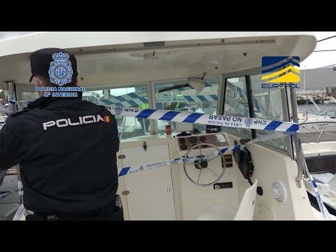 Tráfico ilegal de migrantes en embarcaciones entre el norte de África y España