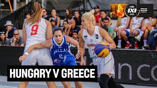 Hungary v Greece | Women's Full Game | Semi-Finals | FIBA 3x3 Europe Cup Qualifier - Andorra 2018