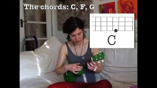 �������� ���� Absolute Beginners You Are My Sunshine Ele Uke Tutorial ������