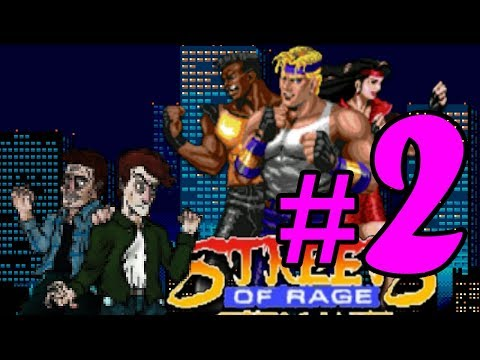 Streets of Rage - Part 2: Fat Dudes and Wolverines - Land Mines & Quick-Times