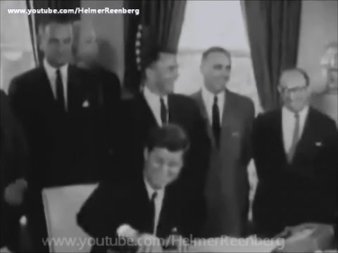 June 30, 1961 - President John F. Kennedy Signs Old Age, Survivors, and Dependents Insurance Act
