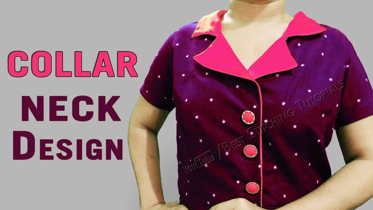 Coat Style Collar Design Kurti Collar Neck Designs Youtube