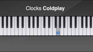 How to play Clocks by Coldpay on piano