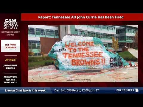 BREAKING: Tennessee Volunteers AD John Currie Fired - Details & Analysis