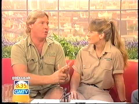 steve and terri irwin on gmtv
