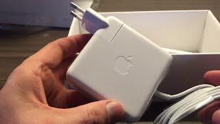 Обзор и распаковка зарядного устройства для MacBook Pro