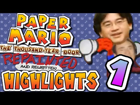 Paper Mario Repainted Highlights (Part 1)