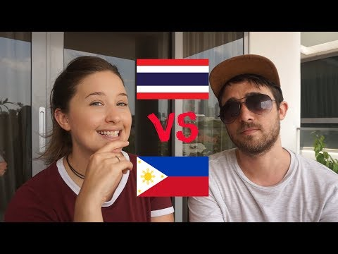 Philippines OR Thailand? | Which Is Best To Travel?