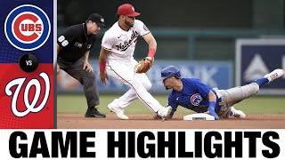 Cubs vs. Nationals Game Highlights (7/31/21)