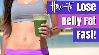 How to Lose Belly Fat FAST & Naturally (8 Ways!) | Healthy Lifestyle Tips