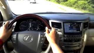 Best Detailed Walkaround 2014 Lexus LX570 5 Door SUV
