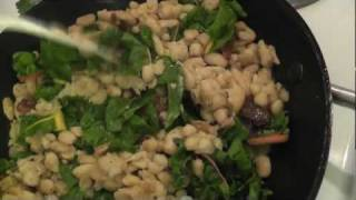 How-to: Sauteed Cannellini Beans With Rainbow Chard ~ A Gluten Free Recipe