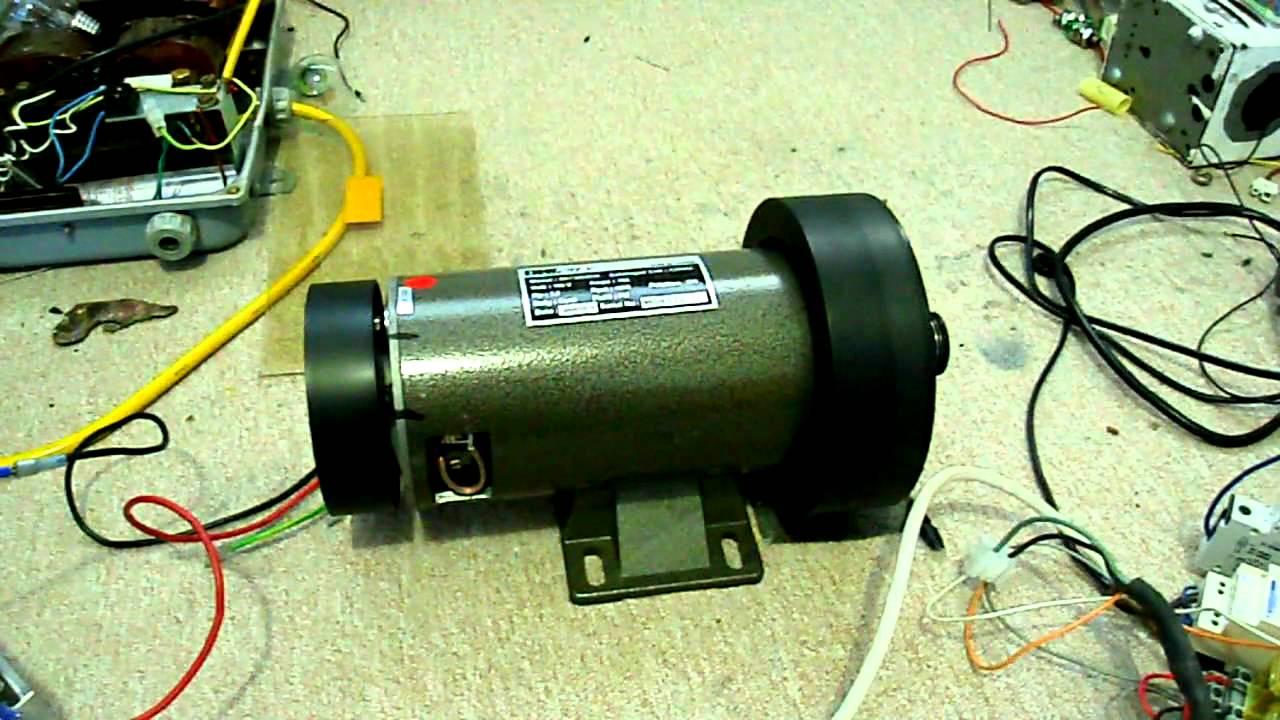 PWM Elektromotor 1,8kW 180V DC 10A  YouTube