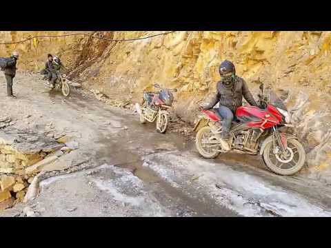 WAY TO UPPER MUSTANG IN FAST FORWARD 2016 MUKTINATH