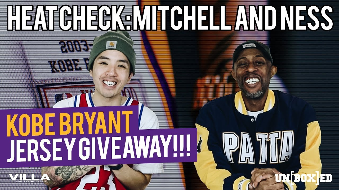 f32f11e3ea4 UNBOXED  KOBE BRYANT JERSEY GIVEAWAY WITH MITCHELL   NESS Ep. 15 ...