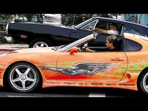 ТОП 10 Лучшие Машины из Форсажа ▶️ Самые Быстрые Авто За Всю Историю 'Форсажа'