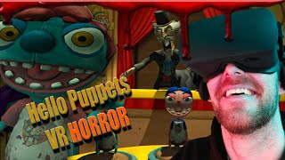 Hello Puppets - Oculus VR Horror Game with a twist