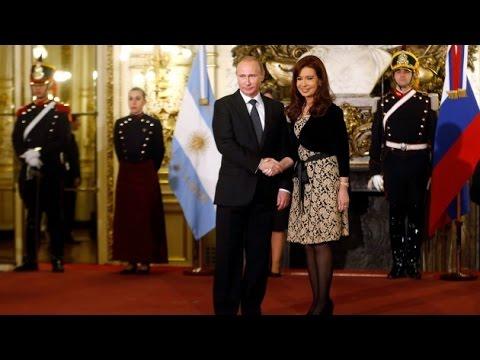 """Putin: """"Argentina es uno de los socios más importantes de Rusia en América Latina"""""""