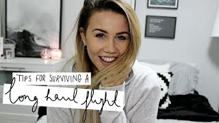 Tips For Surviving A Long Haul Flight | Copper Garden